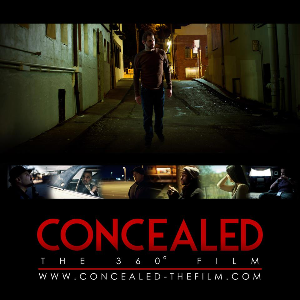 Concealed 360 Poster CONCEALED THE 360 DEGREE FILM