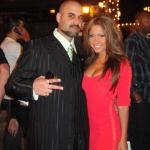 Barritz & Jessica Burciaga at Sabor in San Jose.